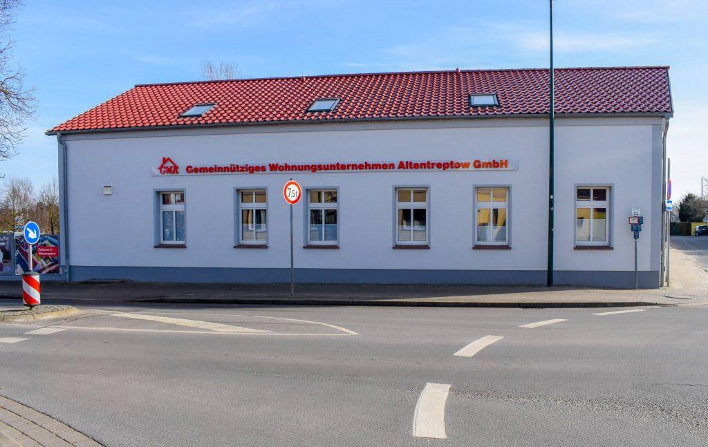 Firmensitz der GWA in Altentreptow